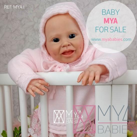 MYA (REF. MYA 1) * Bebé de Vinilo Hiperrealista de Edición Limitada