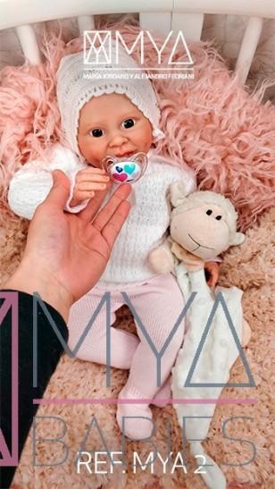 MYA (REF. MYA 2)* Bebé de Vinilo Hiperrealista de Edición Limitada