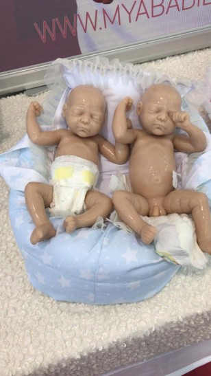 SAM & SAMMY *Silicone Premature Twins (you can buy them together or separately)
