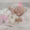 MAYA * Bebé de silicona con cuerpo de tela articulado