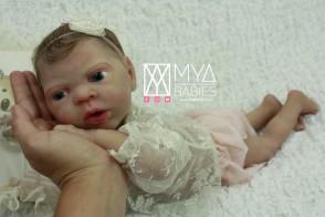 WONDER * Bebé niña de Cuerpo Completo de Silicona