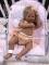 MYA * Bebé de Silicona con Cuerpo de Tela Articulado y Placa de Silicona
