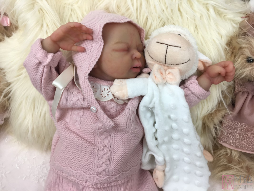 NICO SOFT SKIN * Silicone Baby with articulated fabric ...