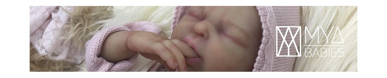 Nico * Bebé de Silicona con Cuerpo de Tela Articulado