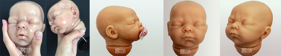 Blanca * Silicone Baby with Articulated Cloth Body