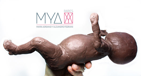 MYA Babies. Molding process