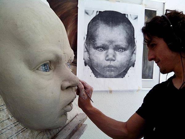 MYA Babies. Retratos, moldes y reproducciones de bebés hiperrealistas