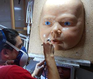 MYA Babies. Portraits, molding & pouring of hyperrealistic babies